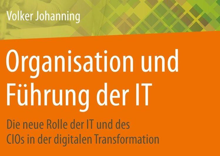 """Neue Publikation im Springer Verlag: """"Organisation und Führung der IT"""""""